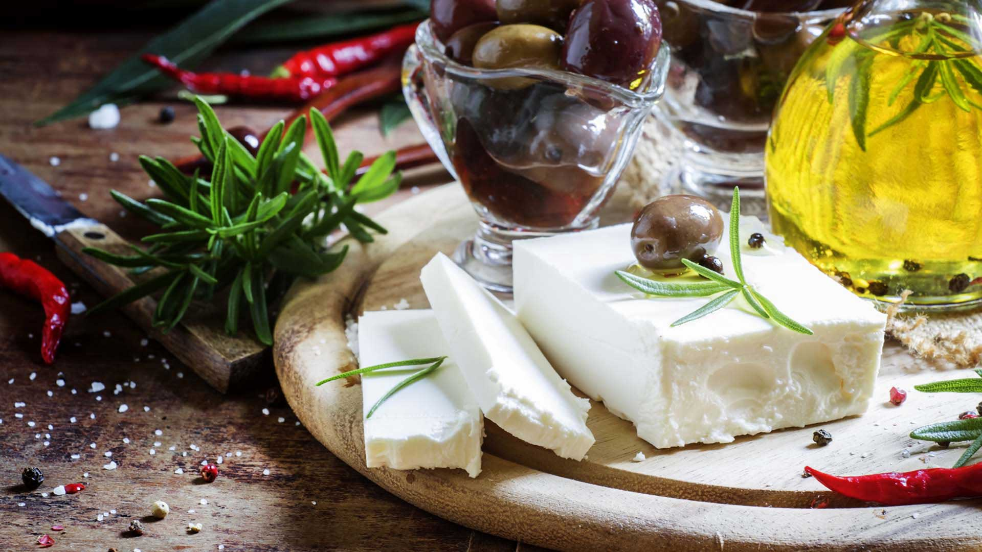Feta Cheese and Olive Oil